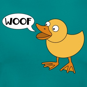 Duck says woof - Women's T-Shirt