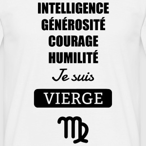 Astrologie - Vierge - Horoscope Signe Astrologique Tee shirts - T-shirt Homme