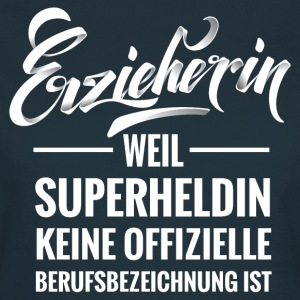 Erzieherin - Superheldin (Typography) T-Shirts - Frauen T-Shirt