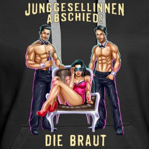 JGA Braut PIN-Up Stripper RAHMENLOS Pullover & Hoodies - Frauen Premium Hoodie
