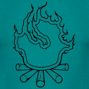 Fire campfire T-Shirts - Men's T-Shirt