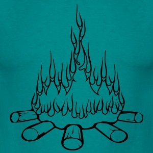 Fire camp campfire T-Shirts - Men's T-Shirt