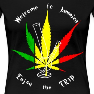 Welcome To Jamaica T-Shirts - Frauen Premium T-Shirt