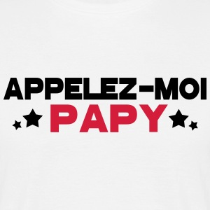 appelez moi papy Tee shirts - T-shirt Homme