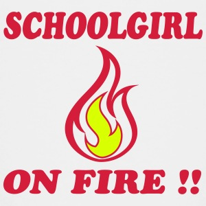 Schoolgirl on fire !! Shirts - Teenage Premium T-Shirt