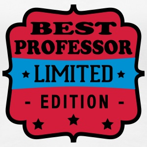 Best professor limited edition Camisetas - Camiseta premium mujer