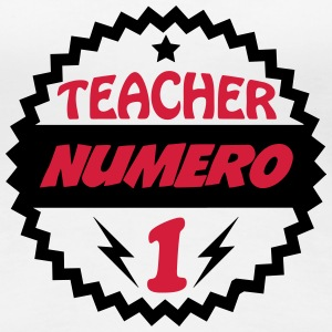 Teacher numéro 1 T-Shirts - Women's Premium T-Shirt