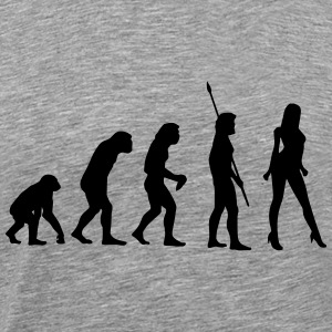SEXY EVOLUTION! T-shirts - Mannen Premium T-shirt