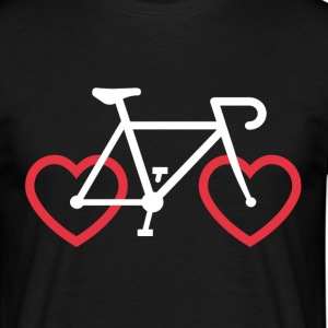 Cycle Love - Mannen T-shirt