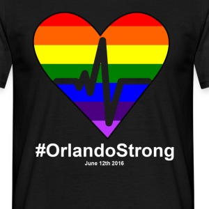 One Pulse Orlando June 12 2016, orlando Strong T-Shirts - Men's T-Shirt