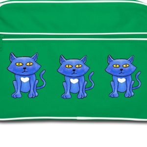 Blue Cats - Retro Bag