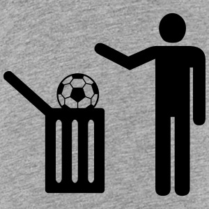 Football = trash T-shirts - Premium-T-shirt tonåring