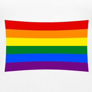 rainbow flag, pride Tops - Women's Premium Tank Top