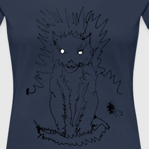 el_gato_small T-Shirts - Frauen Premium T-Shirt