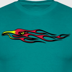 Fire flame bird T-Shirts - Men's T-Shirt