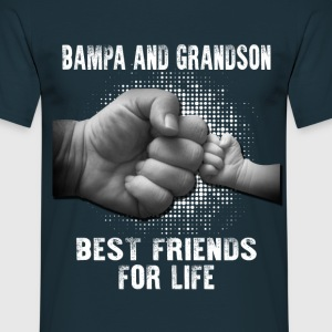 Bampa And Grandson Best Friends For Life T-Shirts - Men's T-Shirt