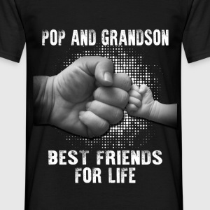 Pop And Grandson Best Friends For Life T-Shirts - Men's T-Shirt