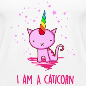 Unicorn Cat Tops - Frauen Premium Tank Top