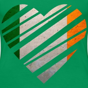 Ireland Heart T-Shirts - Frauen Premium T-Shirt