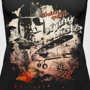 Fliegender Idiot Tops - Frauen Premium Tank Top