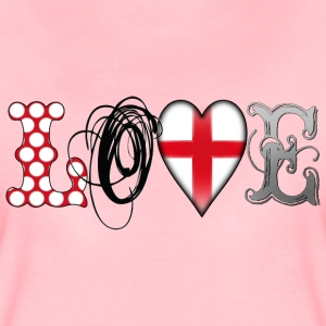 Love England Black T-Shirts - Women's Premium T-Shirt