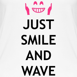 Just smile and wave Tops - Camiseta de tirantes orgánica mujer