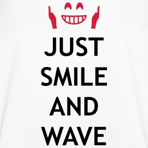 Just smile and wave Tee shirts - T-shirt Homme col V