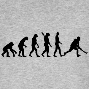 HOCKEY EVOLUTION! T-shirts - Mannen Bio-T-shirt