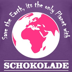 Schokolade - Girl - Tank Top - Frauen Premium Tank Top