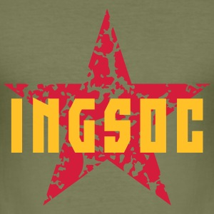 INGSOC (English Socialism) T-Shirts - Men's Slim Fit T-Shirt