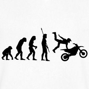 MOTORCYCLE EVOLUTION! T-Shirts - Men's V-Neck T-Shirt