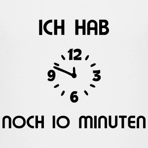 Uhr 10 Minuten T-Shirts - Teenager Premium T-Shirt