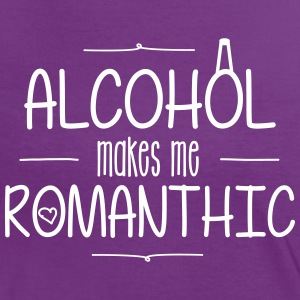 Alcohol Make Me Romantic Tee shirts - T-shirt contraste Femme