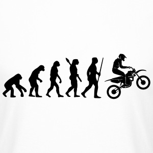 EVOLUTION DE LA MOTO Tee shirts - T-shirt long homme
