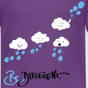 Purple Be Different Shirts - Kids' Premium T-Shirt