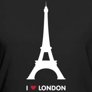 I Love London - Vrouwen Bio-T-shirt