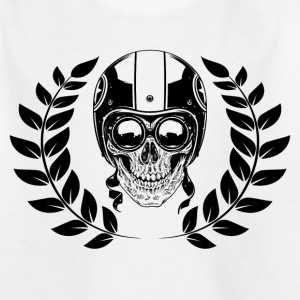 SKULL - 716 - 6S T-Shirts - Teenager T-Shirt