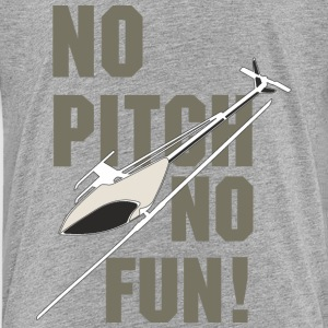 3D-Heli Modellflieger no Pitch no fun - RAHMENLOS RC Car Flugzeug Hobby Design T-Shirts - Kinder Premium T-Shirt