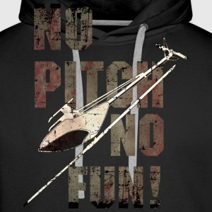3D-Heli Modellflieger no-Pitch-no-fun-used - RAHMENLOS RC Car Flugzeug Hobby Design Pullover & Hoodies - Männer Premium Hoodie