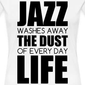 Jazz - Music - Blues - Funk - Jazzman - Groove T-Shirts - Women's Premium T-Shirt