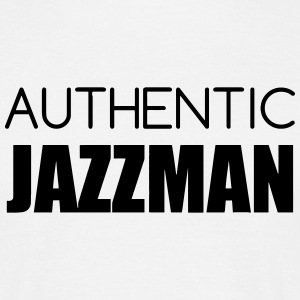 Jazz - Music - Blues - Funk - Jazzman - Groove T-skjorter - T-skjorte for menn