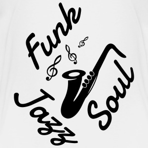 Jazz - Music - Blues - Funk - Jazzman - Groove T-shirts - Premium-T-shirt barn
