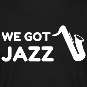 Jazz - Music - Blues - Funk - Jazzman - Groove T-shirts - T-shirt herr