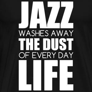 Jazz - Music - Blues - Funk - Jazzman - Groove T-shirts - Mannen Premium T-shirt