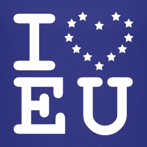 i love EU European Union Brexit Shirts - Kids' Premium T-Shirt