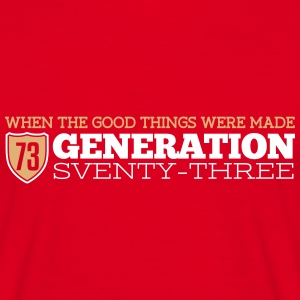 Generation 73 Tee shirts - T-shirt Homme