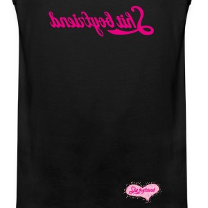 Shit Boyfriend tank top - Men's Premium Tank Top