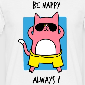 BE HAPPY ALWAYS - T-shirt Homme