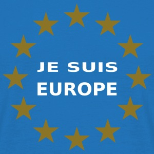 Je Suis Europe T-Shirts - Men's T-Shirt