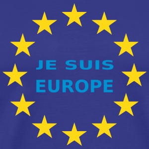Je Suis Europe T-Shirts - Men's Premium T-Shirt